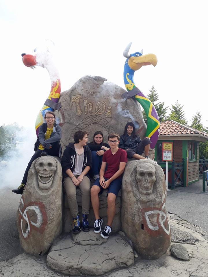 Im Parc Astérix
