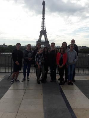 Familientag in Paris